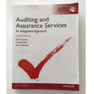 Auditing and Assurance Services:An Integrated Approach 審計學用書