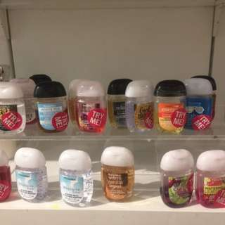 Bath and Body Works Sanitizer 6 For $100