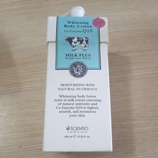 Scentio Whitening Body Lotion Co-Enzyme Q10