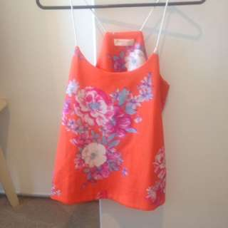 Paint It Red Top Size XS