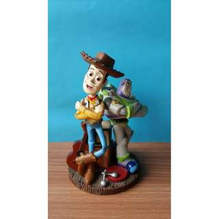 Toy Story Woody and Buzz Lightyear Wabble Head figure