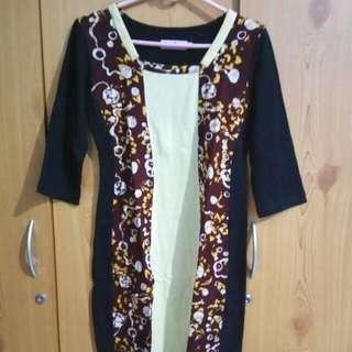 Dress Pendek Batik