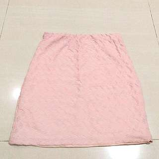Dusty Pink Bodycon Skirt