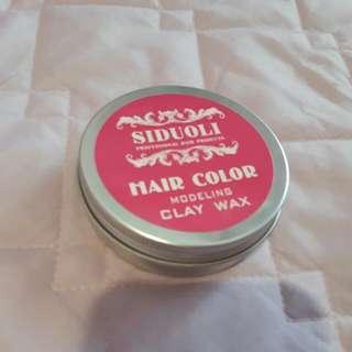 彩色髮泥-粉紅