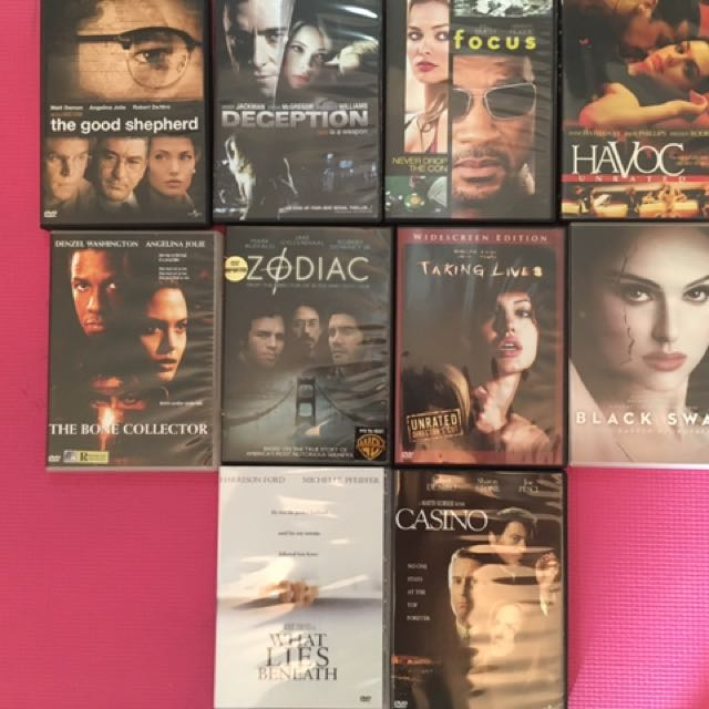 10 Original DVDs (Thriller Package)