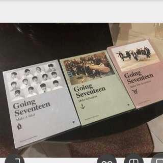 Seventeen Album (Going Seventeen)