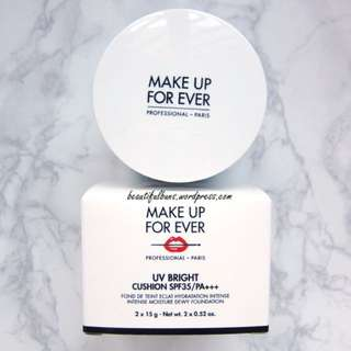 Make up forever bb cushion 氣墊粉餅 15g (連refill)💙