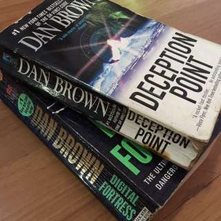 "Dan Brown ""Deception point"" ""Digital Fortress"""