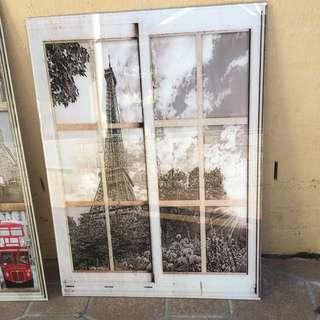 Old School Paris Frame