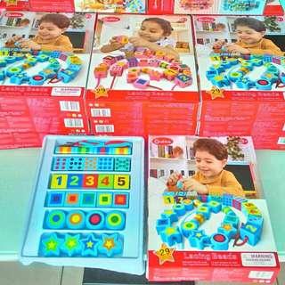 onshine兒童數字形狀串珠~現貨供應中