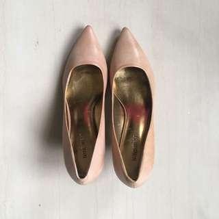 Nine West Pump Shoes Nude Color Size 38