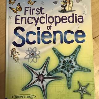 First Encyclopaedia Of Science 小朋友科學書