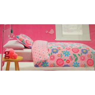 BNIP Girls Single Quilt Cover Set