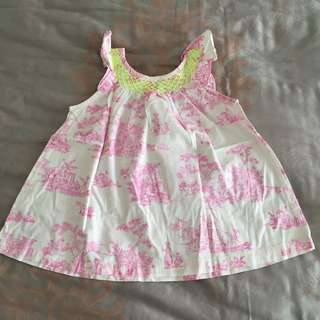 Gingersnaps Baby Kids Dress Baju Rok Anak Size 12 Months