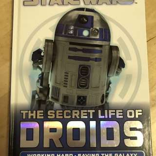 Star Wars The Secret Life Of Droids 小朋友書