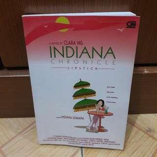 Novel Indiana Chronicle Lipstick - Bekas