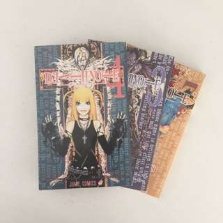 Jual komik Death Note vol. 3,4,7