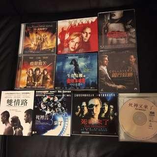 電影VCD套餐C十隻如圖$40不議價不散賣