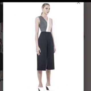 Collate The Label Colour Blocked Culotte Jumpsuit