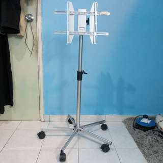 LCD TV stand with roller