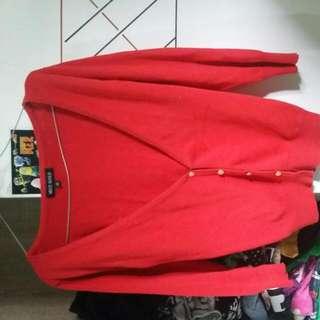 Cardigan Merah...sesikut...