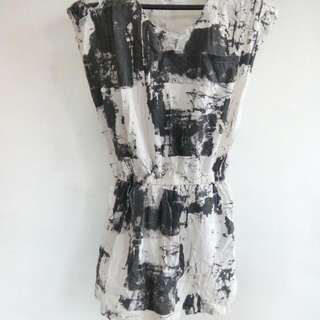 Abstract Vintage Dress