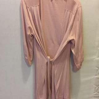 日本品牌PLASIS粉紅色棉料外套