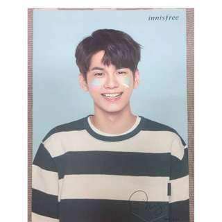 Innifree Wanna One Sungwoo Poster+ Autograph Tube