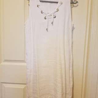 Iconic White Dress