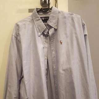 Ralph Lauren Polo Blue Shirt
