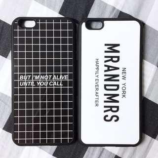 型格iPhone case ⬛️⬜️