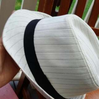 White And Black Hat