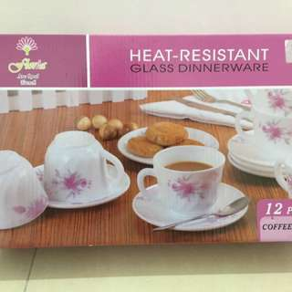 Heat-Resistant- Glass Dinnerware