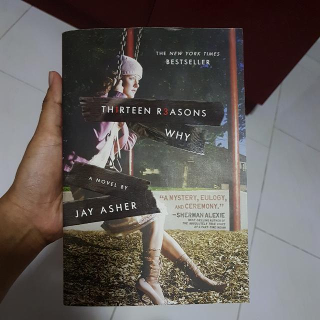 13 Reasons Why Book Books Stationery Fiction On Carousell