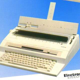 All New Olympia Compact 5 MD Electronic Typewriter-哥林比亞compact 5 MD電子記億打字机