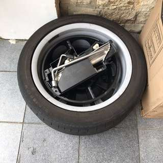 Spare Tyre And Rim