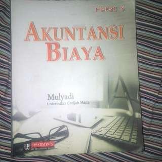 Buku Kuliah Akutansi Biaya