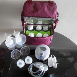 Breast Pump & Milk Storage with Bag