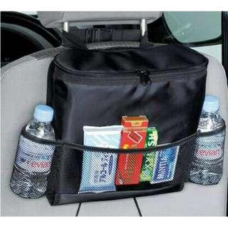 汽車椅背用保溫保冰多功能收納袋