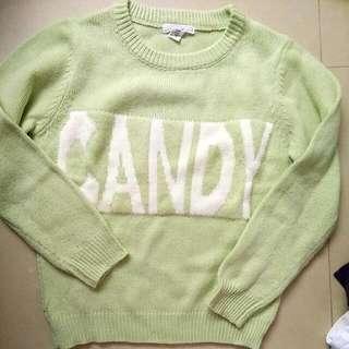 Fifty% M毛衣candy  #我的旋轉衣櫃 #10月免購物直接送 #Fifty #M號 #冬季衣物 #毛衣