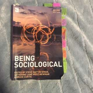 Being Sociological for course 100 Auckland University