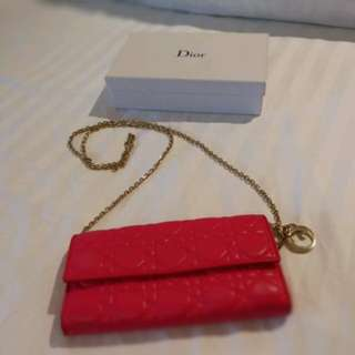 Authentic Dior Wallet On Chain
