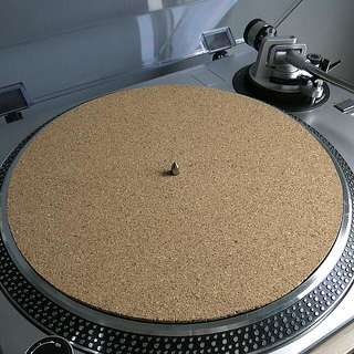 Turntable Cork Platter Mat / Vinyl Slipmat