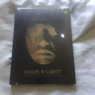 GDRAGON First Concert, Shine A Light Album (sealed)