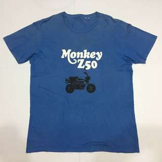 T-Shirt Uniqlo Monkey Z50