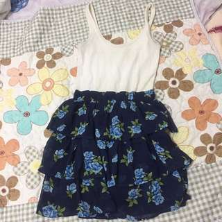 Abercrombie & Fitch Foral Dress