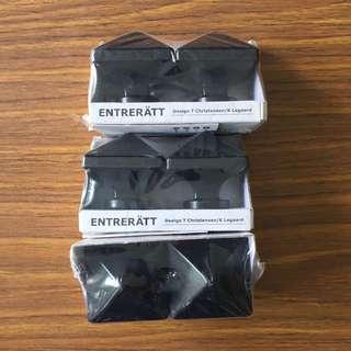 IKEA Entreratt Finials, Black