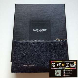 [全新] SAINT LAURENT Leather Cardholder