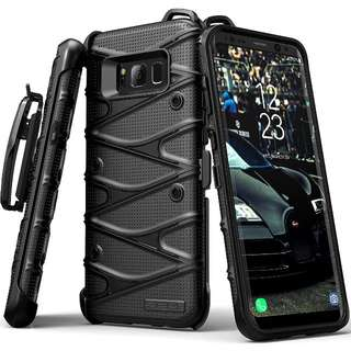 SGM Dual Layer Hybrid Case For Samsung Galaxy S8 or S8+