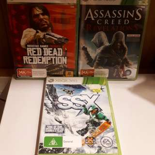 3 Great XBOX 360 Games!! *BARGAIN*